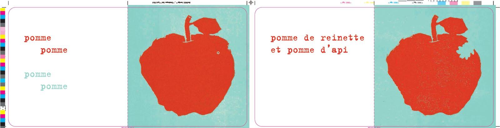 Le blabla blog de christine beigel pomme poule ou les deux - Pomme de reinette et pomme d api tapis tapis rouge ...