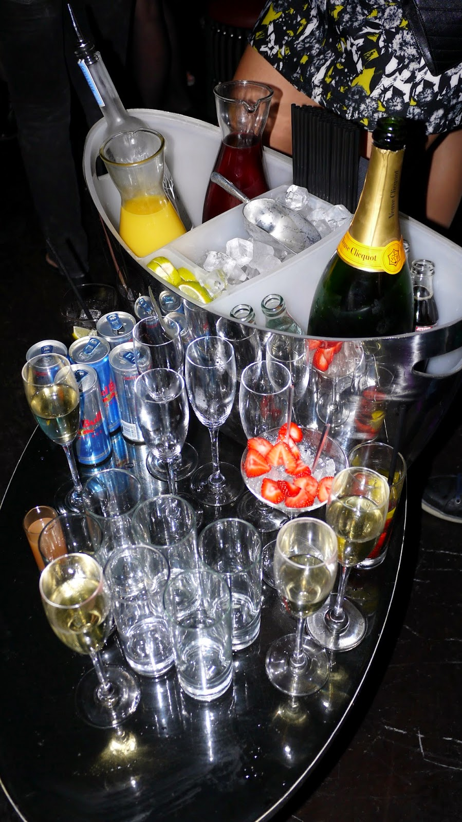 Drinks at Raffles Chelsea