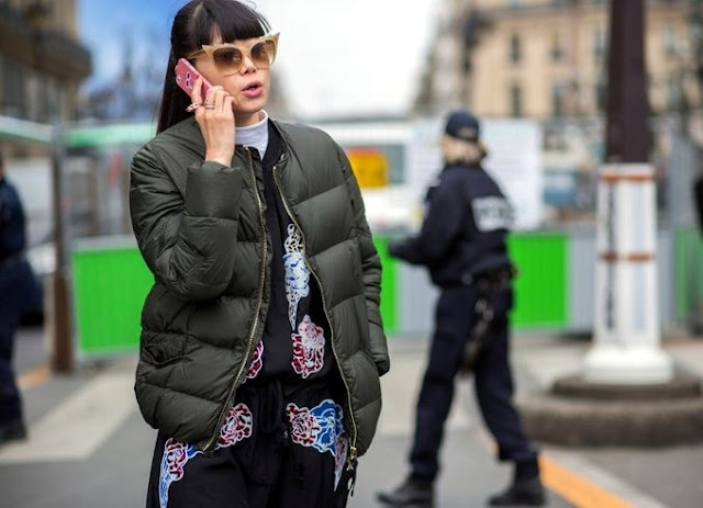 Down Jackets Street Style