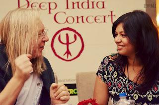 Eric Mouquet and Parmita Borah at Vivanta by Taj, Bangalore - Jim Ankan Deka photography