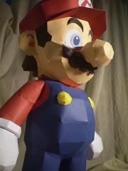 Papercraft Super Mario 60 cm