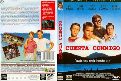 Cuenta conmigo 1986 | Caratula | Cine clásico