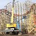 Novas imagens da construção da Goliath no Six Flags Great America