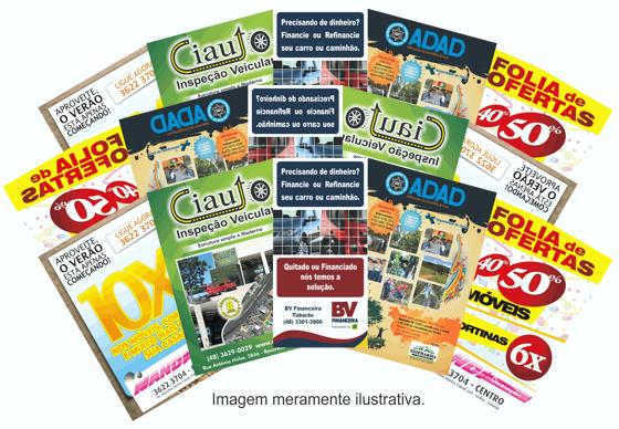 Distribuição de panfletos, flyers e outros...