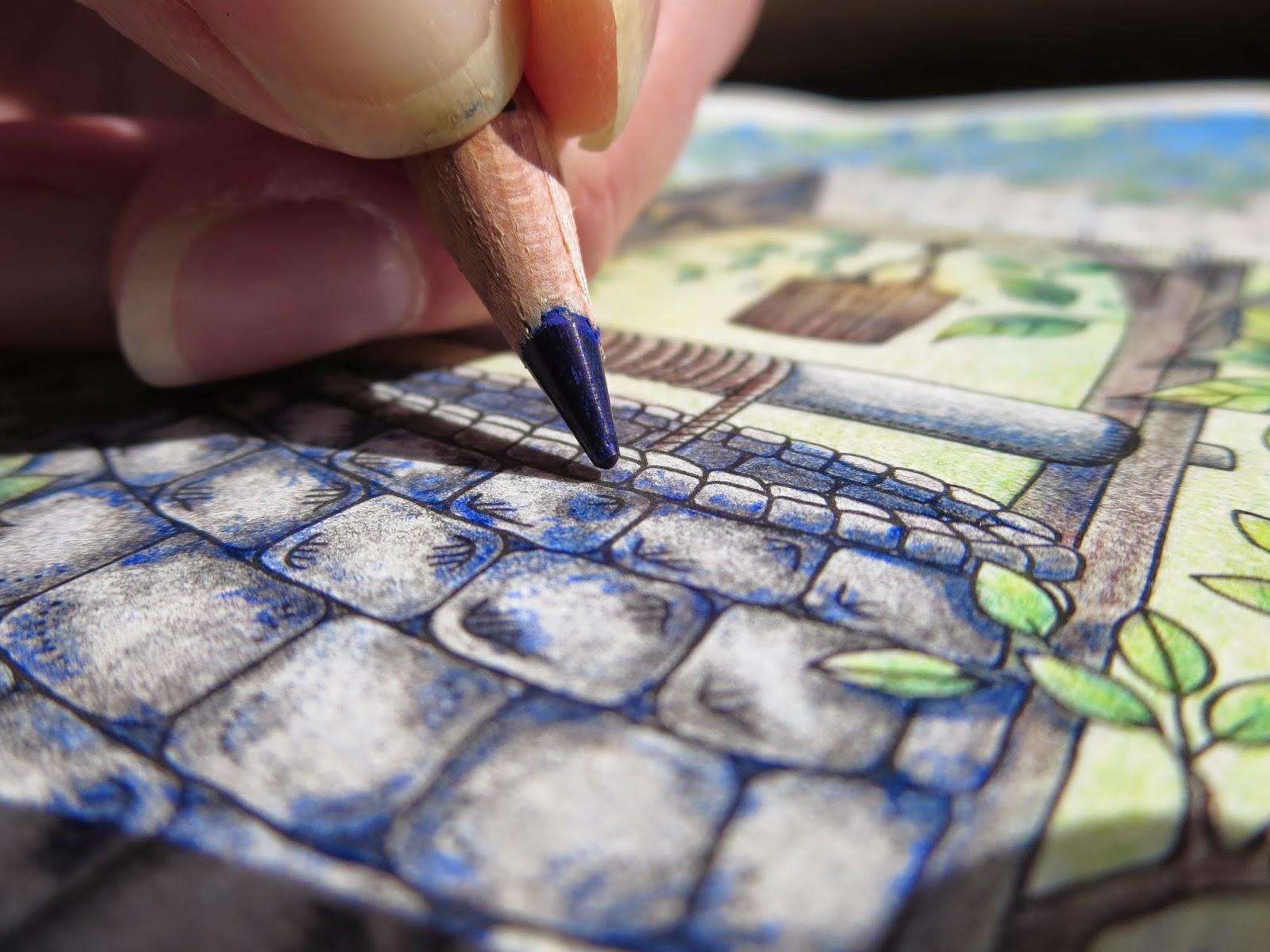 The secret garden coloring book review - My Secret Garden Colouring Book The Well Part 2