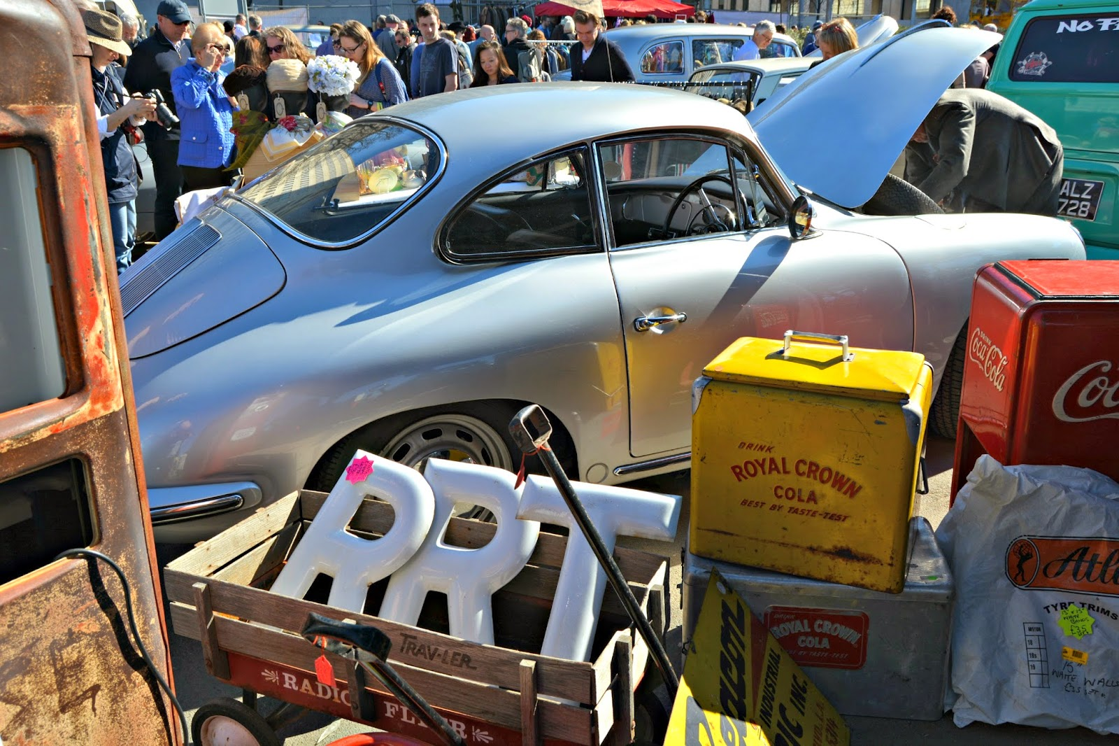 london classic car boot sale southbank