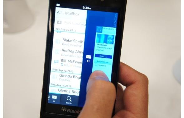 Características del BlackBerry z10