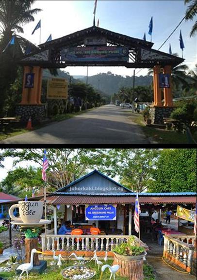 Mount Pulai entrance