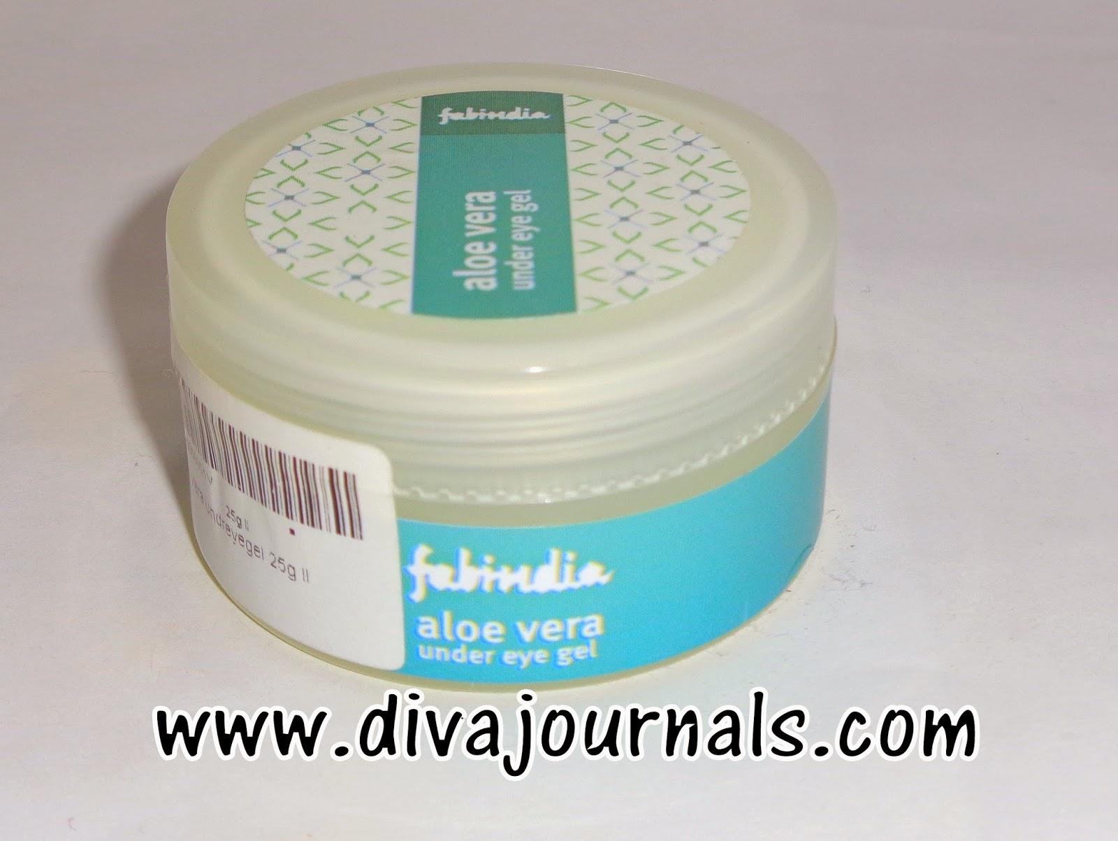 FabIndia Aloe Vera Under Eye Gel Review
