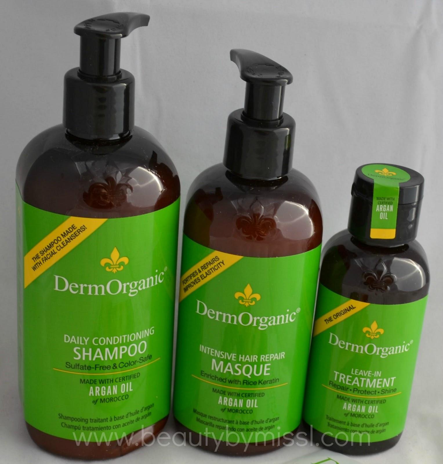 DermOrganic hair care