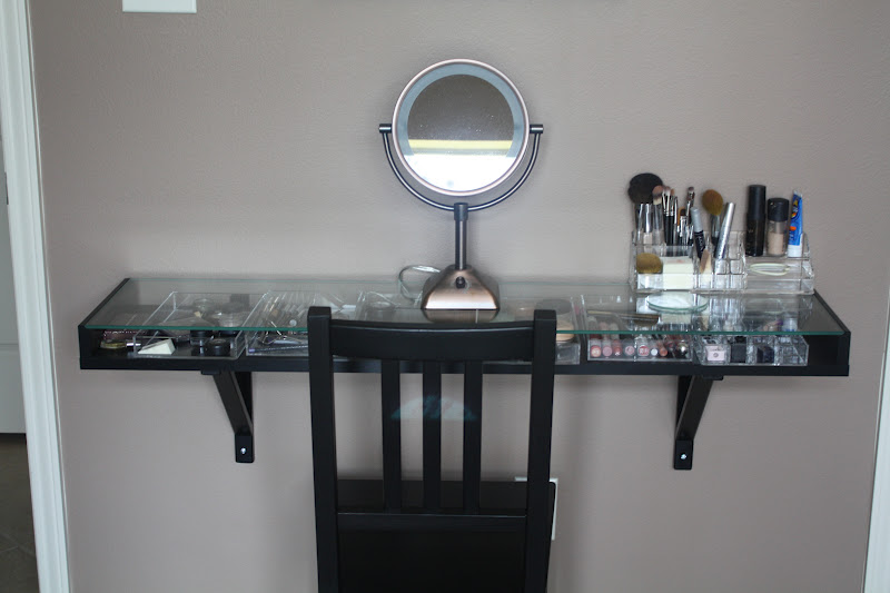 Portugal Ponderings Makeup Station My Creation Inspired By Pinterest