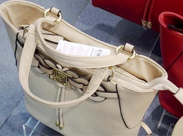 Lavie Beige handbag