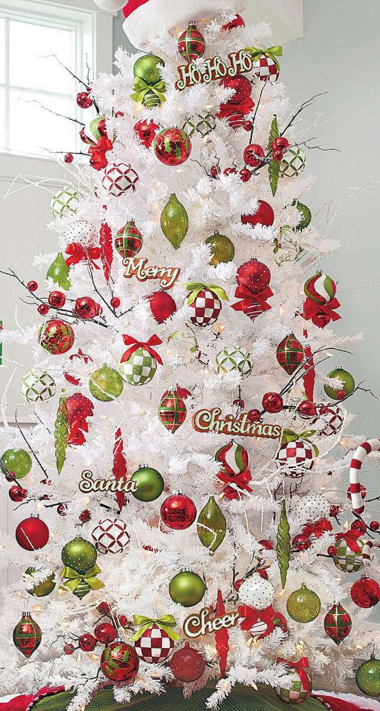 Lookandlovewithlolo oh christmas tree - Arboles de navidad blanco ...