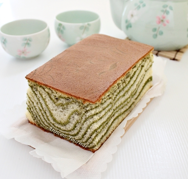 A popular castella cake in the blogosphere