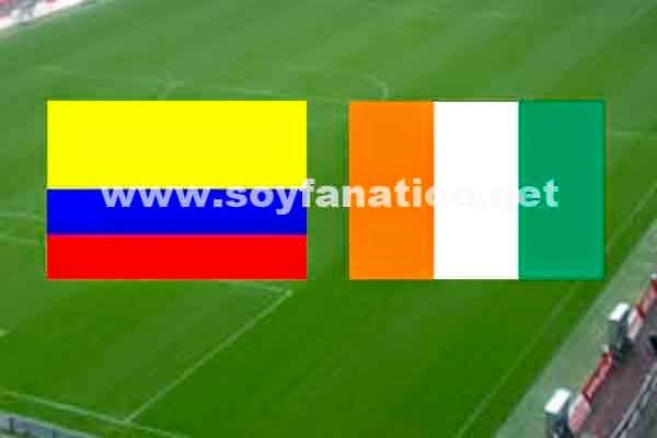 Seleccion Colombia vs Costa de Marfil Mundial 2014