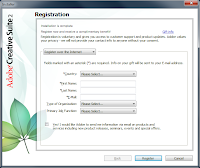 Windows 7. Free Adobe CS2 installation - Register the product