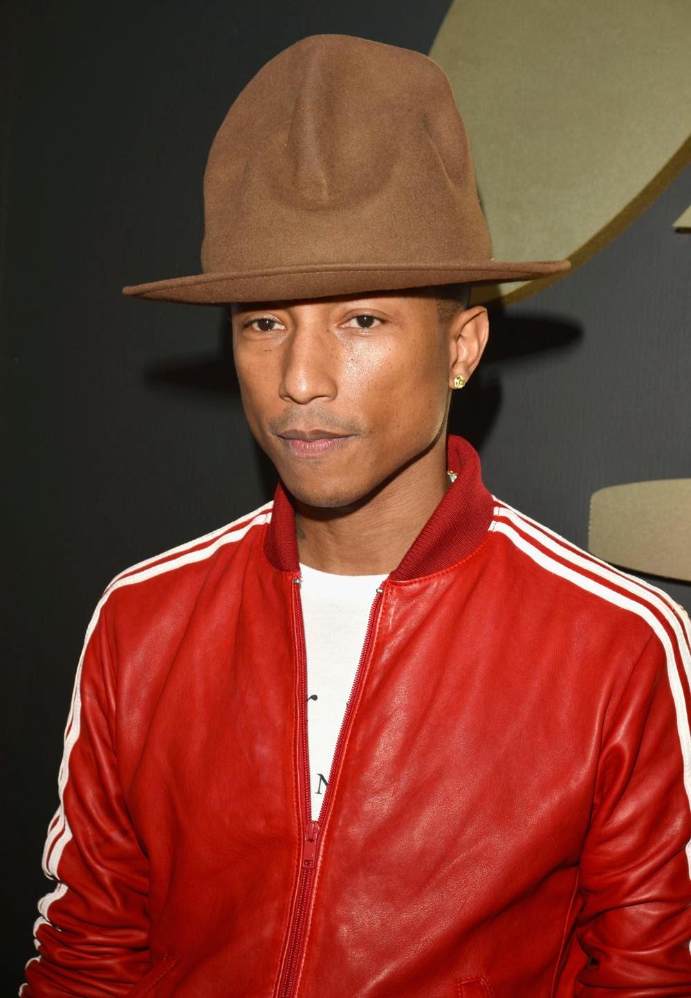 Pharrell in vintage 1982 Vivienne Westwood hat