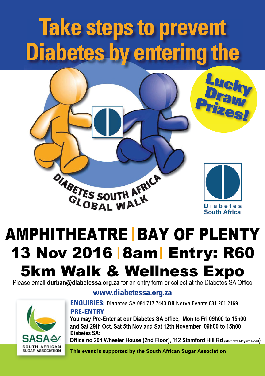 Global Diabetes Walk 2016