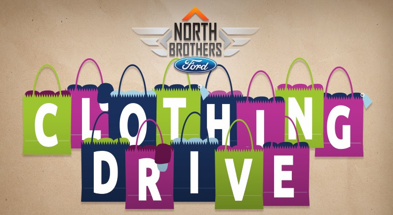 North Brothers Ford Annual Clothing Drive