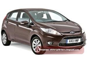 Harga Ford Fiesta Spesifikasi 2012