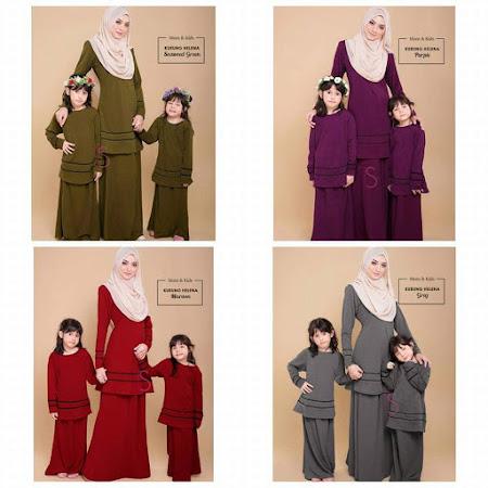 Yang paling dinantikan Set Sedondon Ibu Dan Anak Dengan6 Color Yang MEnawan