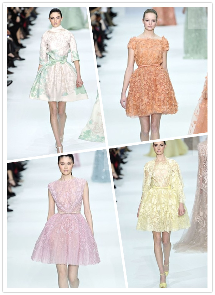 Elie Saab spring/summer 2012 couture show