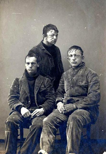 Студенты Принстона после игры в снежки между первокурсниками и второкурсниками, 1893