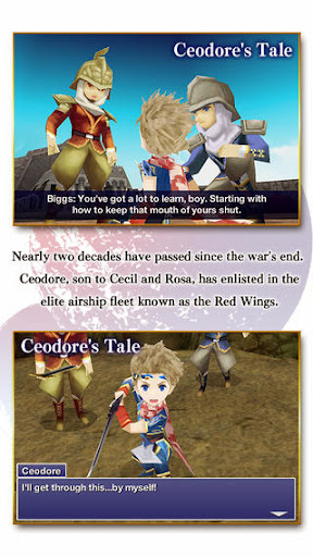 FINAL FANTASY IV: THE AFTER YEARS v1.0.0 for iPhone/iPad