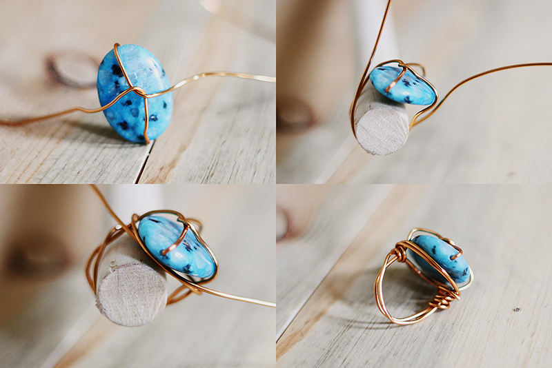 Sincerely, Kinsey: Wire Wrap Ring DIY