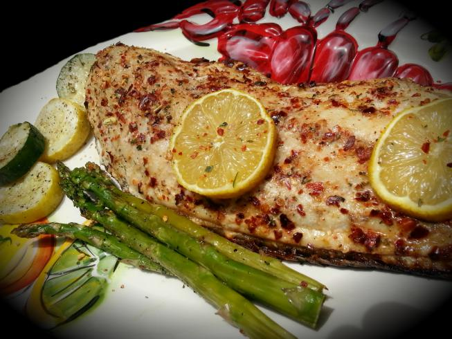 37 cooks tropical traditions coconut oil grilled redfish for Red fish recipe