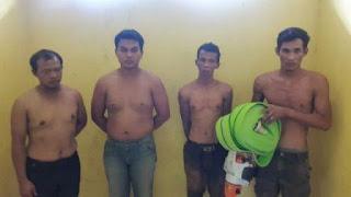 Buronan Setahun, Pembobol Logistik PT BAP Ditangkap