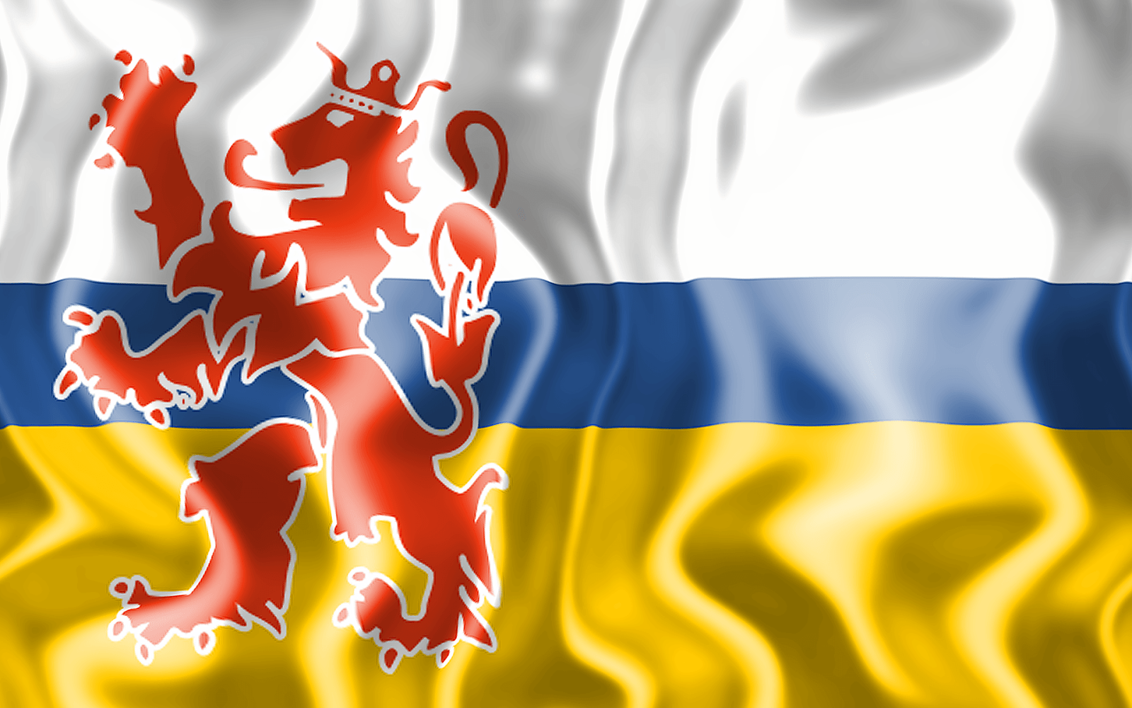 3D vlag van Limburg