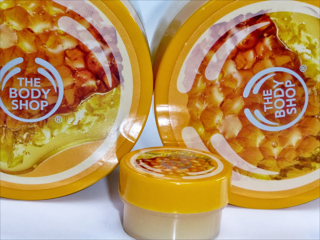 A picture of The Body Shop Honey Mania products