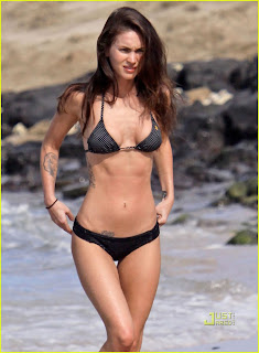 Celebrity Megan Fox in Bikini Picture Gallery