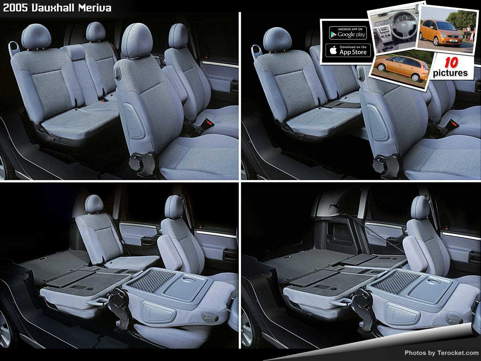 Hình ảnh xe ô tô Vauxhall Meriva 2005 & nội ngoại thất