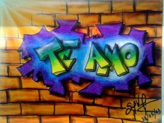 graffitis de amor