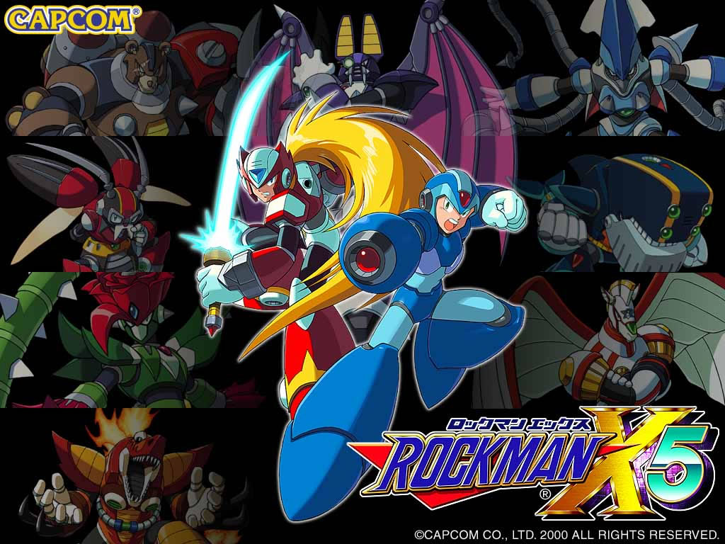 Megaman HD & Widescreen Wallpaper 0.546464076232415