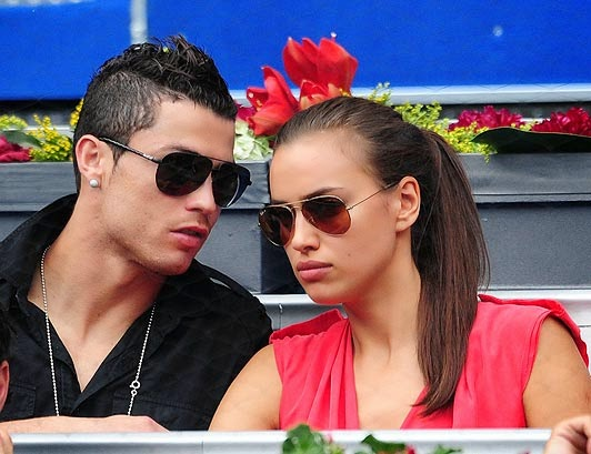 coogled footballer cristiano ronaldo with his girlfriend pictures
