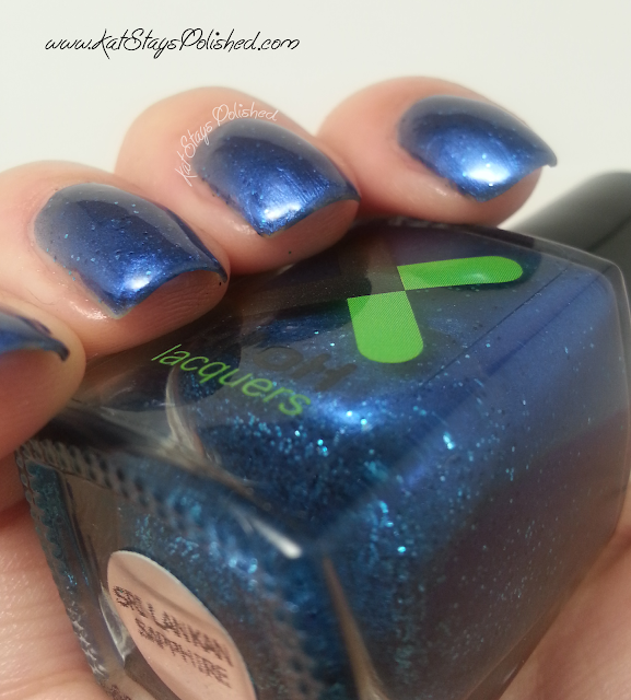 Kilox Lacquers - World Opulence Collection - Sri Lankan Sapphire