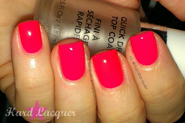 hot neon pink