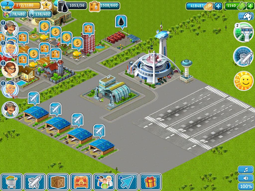 Havaalanı İşletme Oyunları