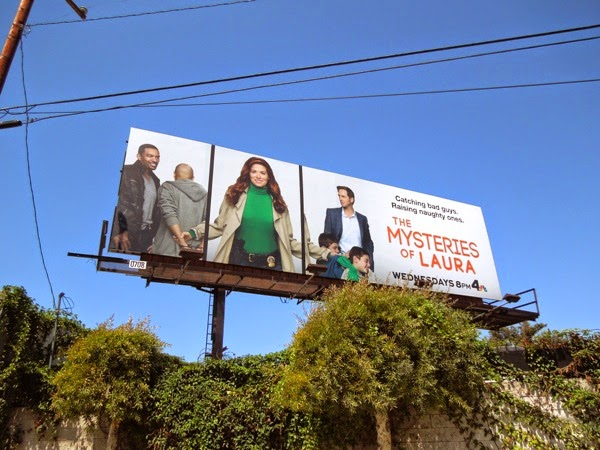 The Mysteries of Laura billboard