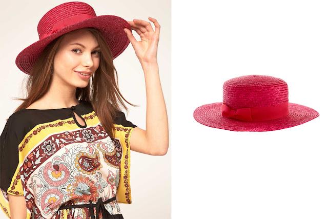 Sombrero canotier