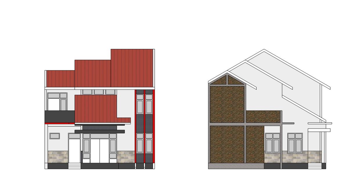 renovasi rumah lahan 8 x 10