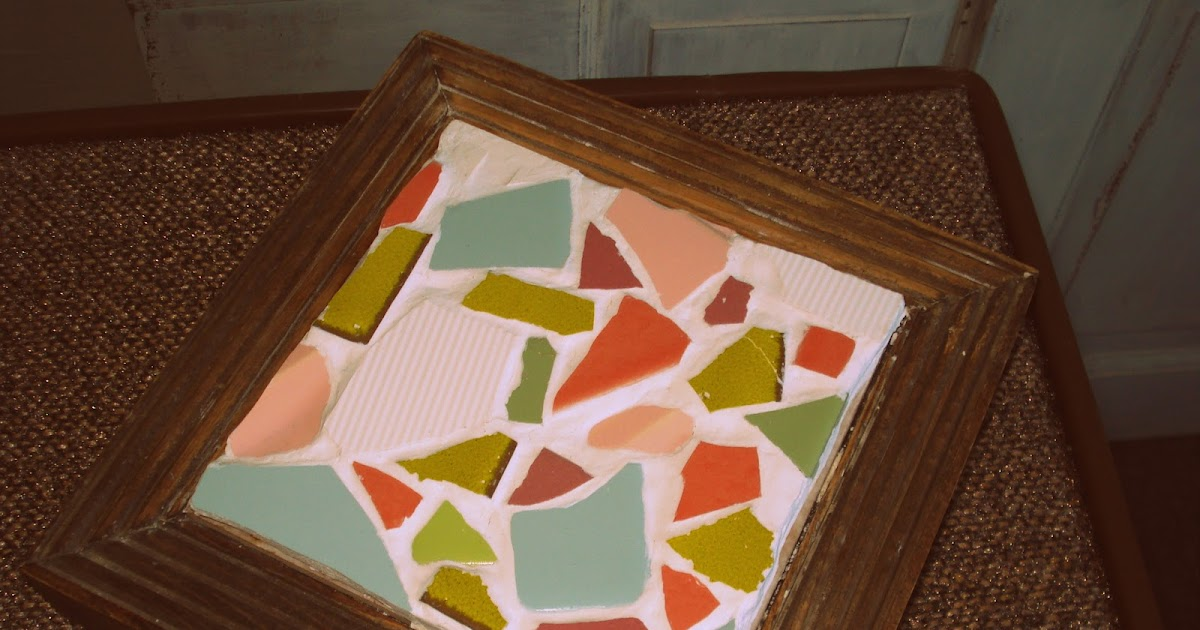 Crafternoon Delight Diy Mosaic Tile Trivets