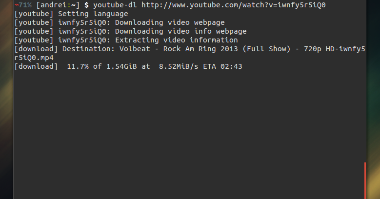 Command Line Video Download Tool Youtube Dl Gets Support For 17