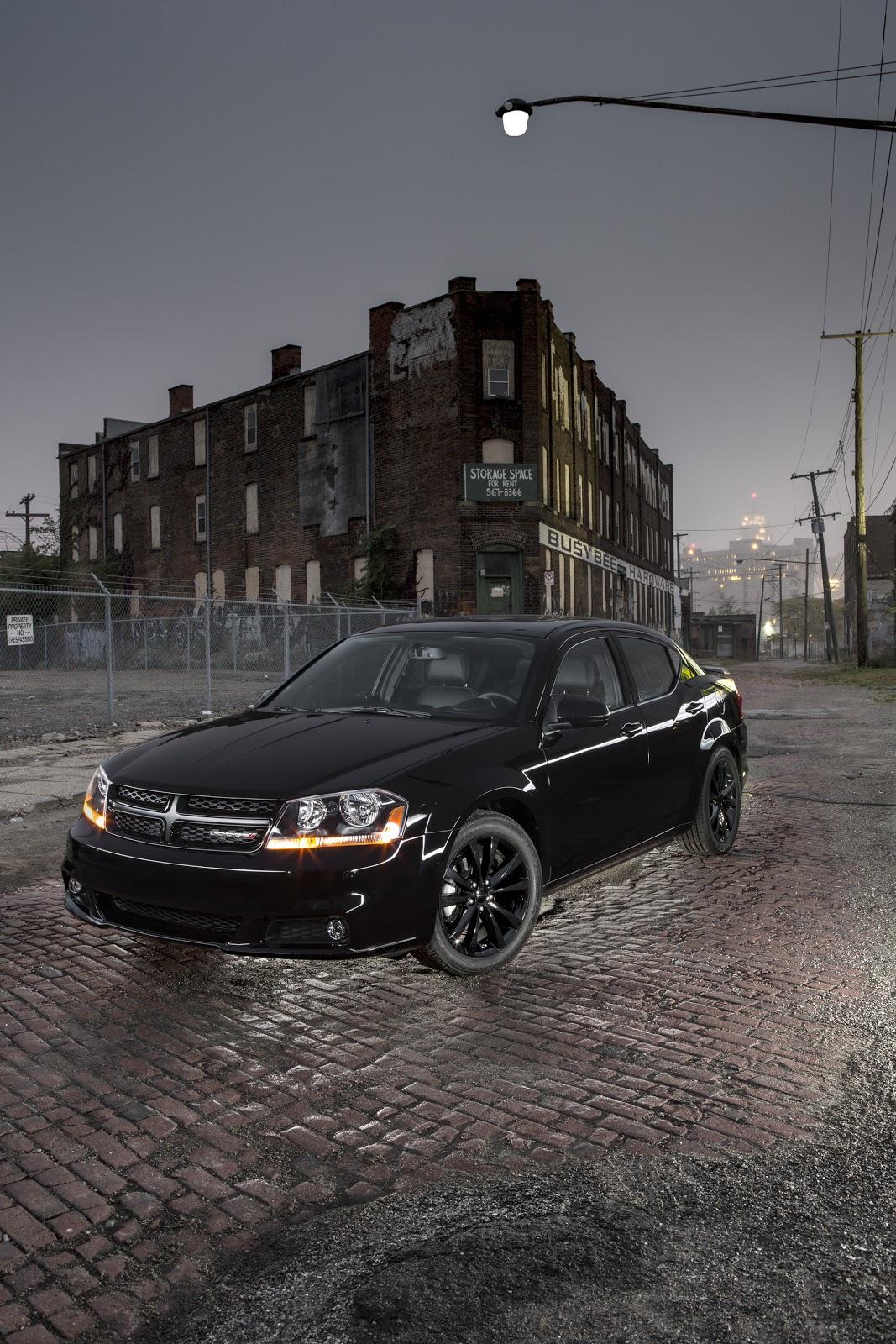 Blog: 2013 Dodge Avenger, Challenger R/T et Charger R/T Blacktop