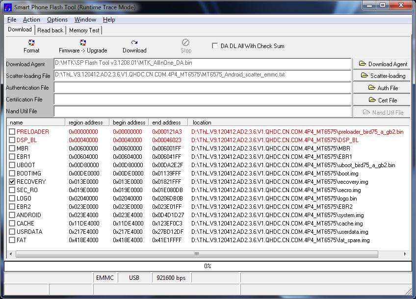 Cara menggunakan flashtool untuk Rom MTK65xx