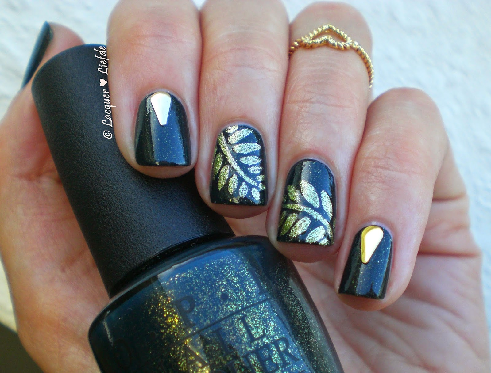OPI Live and Let Die Fall Manicure