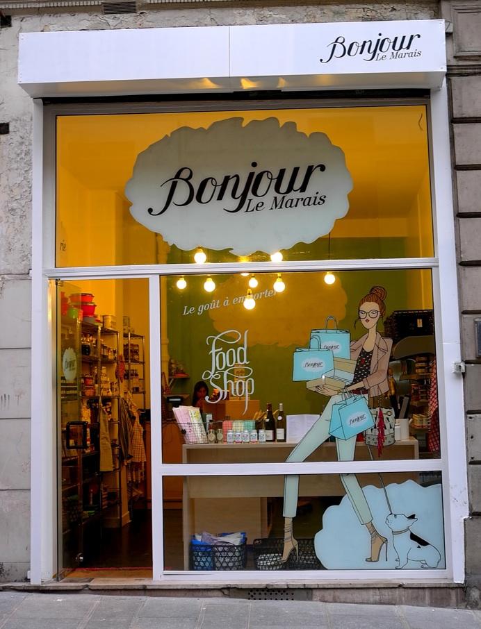 Alternative food and beverage ouverture du nouveau concept store bonjo - Concept store marais ...